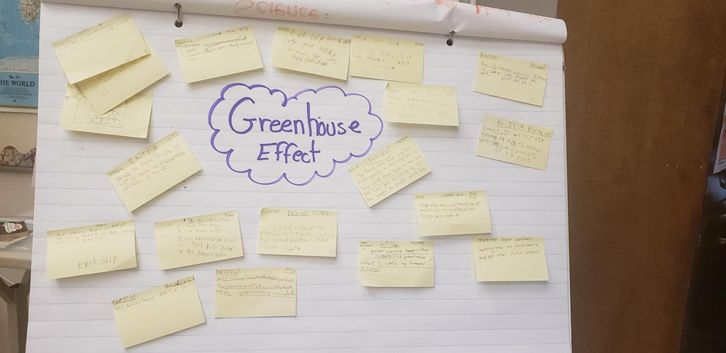 Greenhouse brainstorming activity