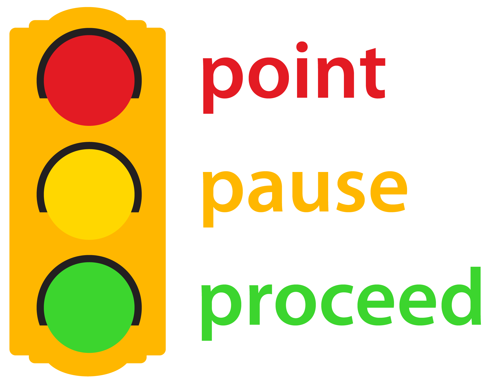 Point, Pause, Proceed Video