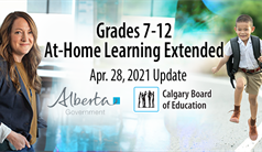 Grade 7-12 At-Home Learning Extended