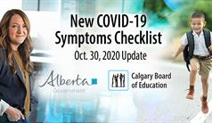 Update for Families | New COVID-19 Symptoms Checklist & Positive Case [...]