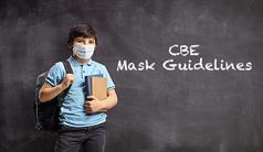 Mask Guidelines for Students and Staff Now Available