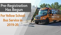 Yellow School Bus Pre-Registration