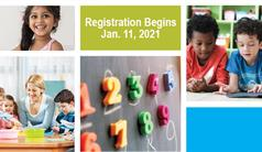 Kindergarten Registration Begins January 11, 2021