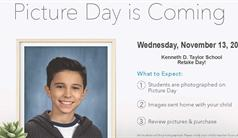 Picture Retake Day - Wednesday November 13