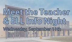Meet the Teacher & ELL Info Night